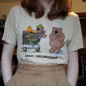Vintage '80s Bear Necessities Tee